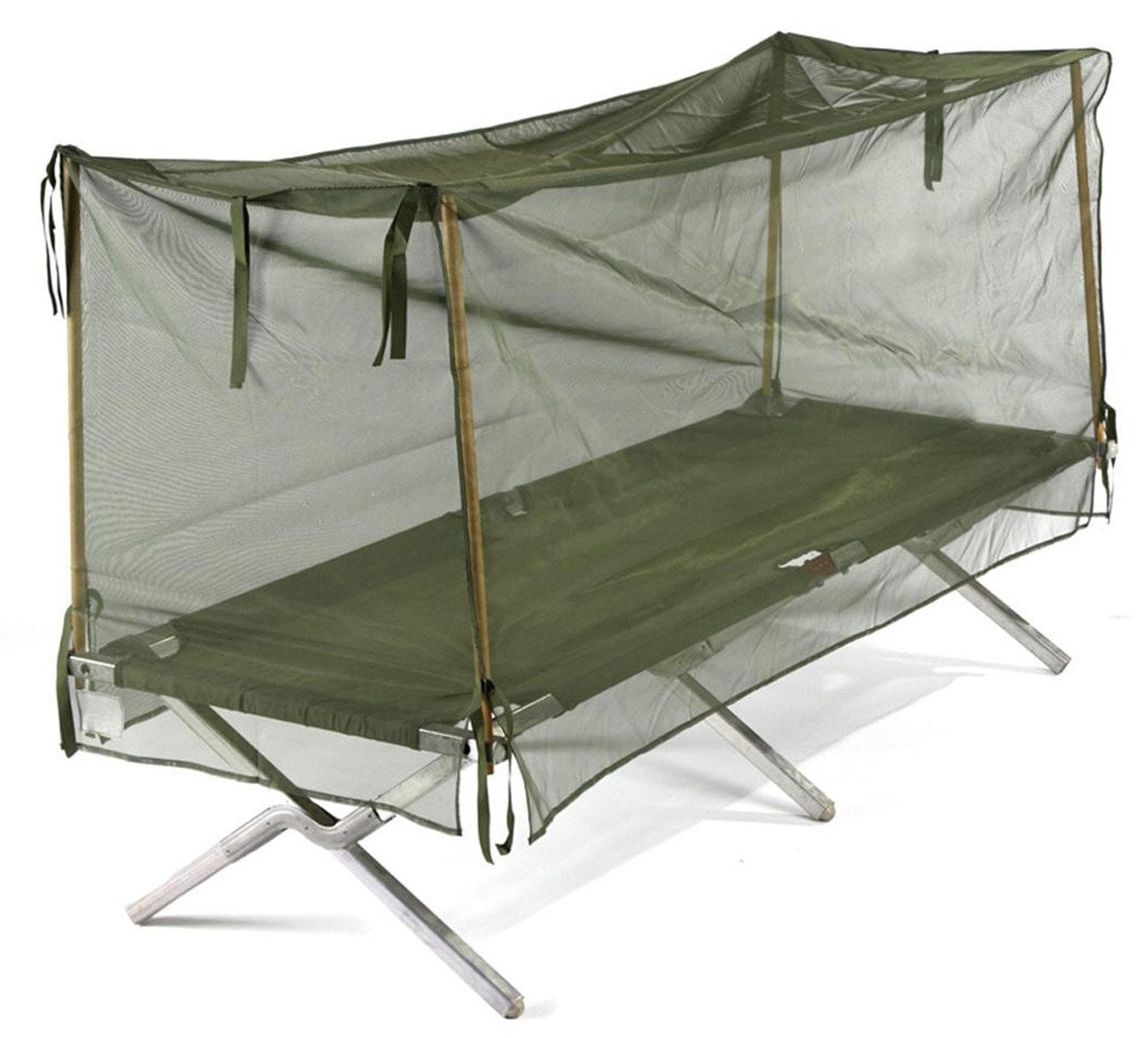 military cot tent